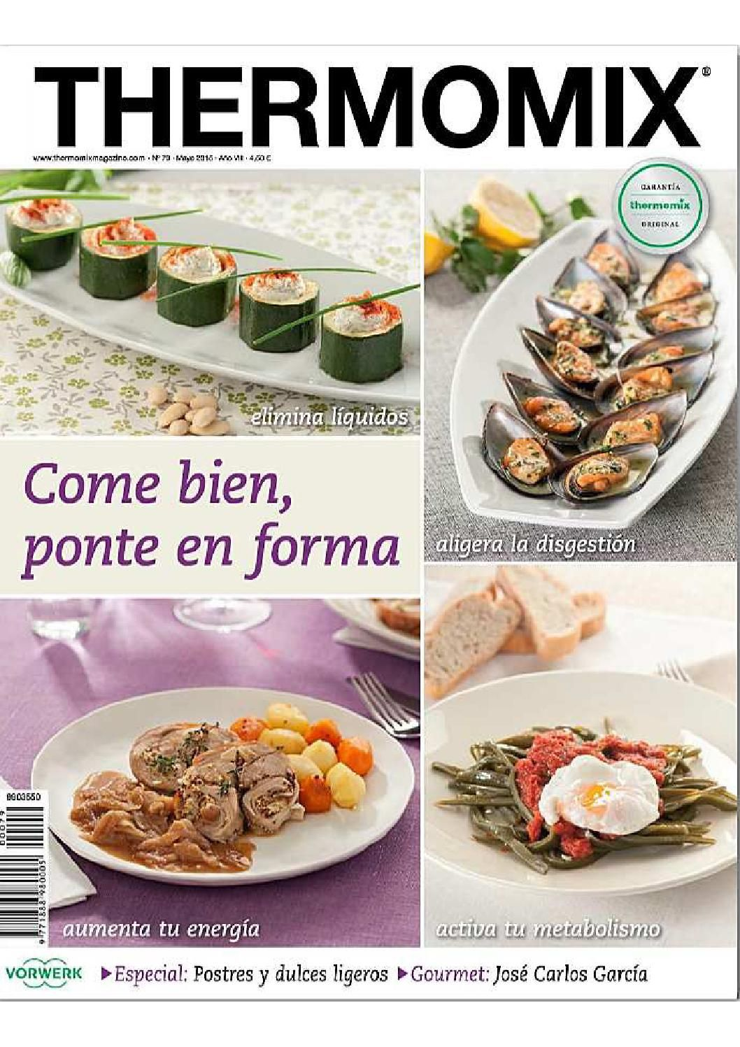 Libro De Postres Thermomix Thermomix Magazine Mayo 2015 Thermomix Thermomix