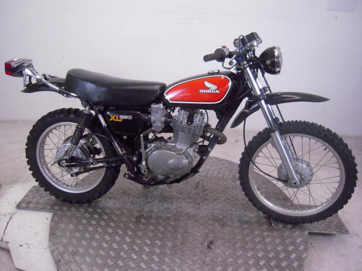 1975 honda xl250k2 motosport enduro un registered us import classic bike restore honda. Black Bedroom Furniture Sets. Home Design Ideas