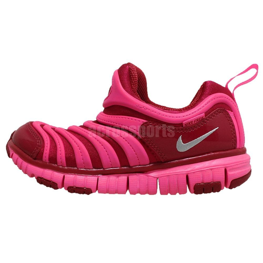 2d90d3372d58 Nike Dynamo Free PS Red Pink Kids Girls Preshool Running Shoes FREE RUN  Sneakers http