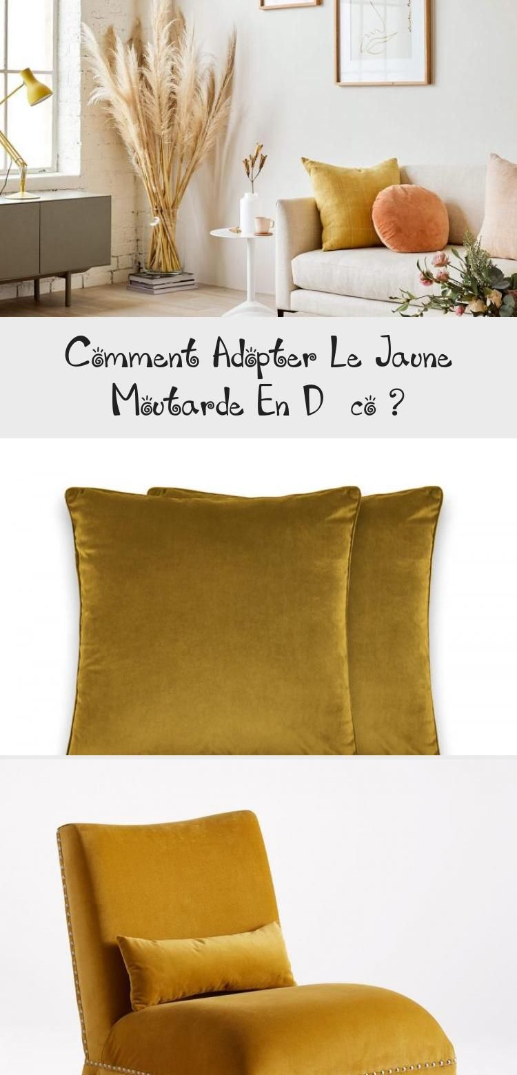 Comment Faire Du Jaune Moutarde comment adopter le jaune moutarde en déco | pillows, throw