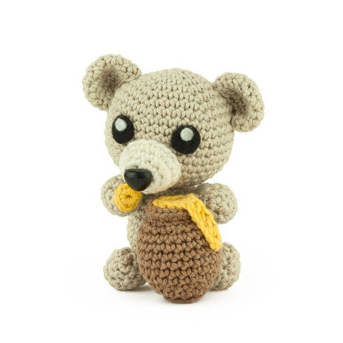 Crochet pattern Honey Bear - Sabrina\'s Crochet | Bears - Crocheted ...