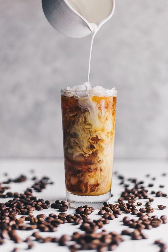 Organic Iced Coffee With Homemade Cashew Milk Nattwrobel Com Coffee Icedcoffee Pourshot Homemade Cashew Milk Organic Iced Coffee Cashew Milk