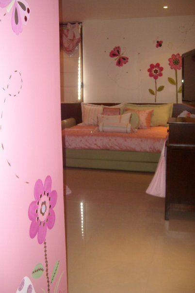 Decoracion dise o y pintura en muros recamara de bebe for Decoracion de pintura