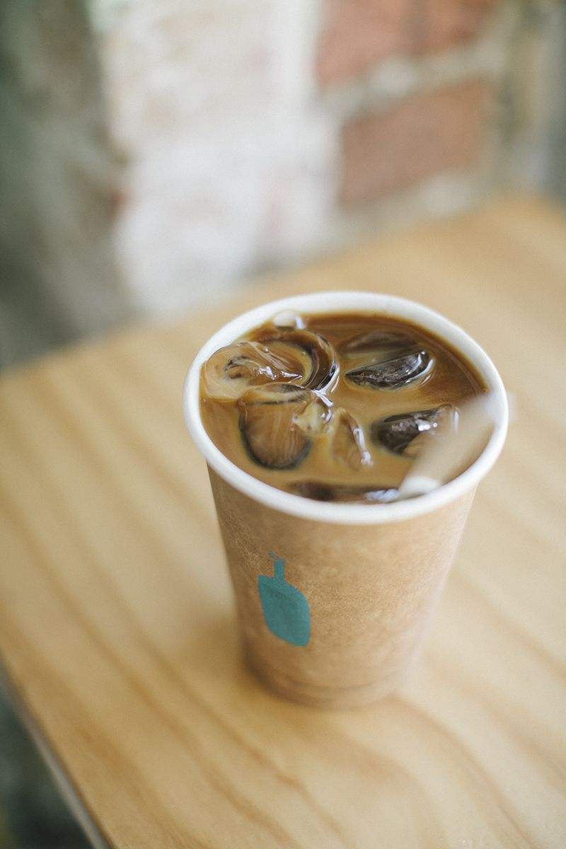 blue bottle iced coffee- THE BEST