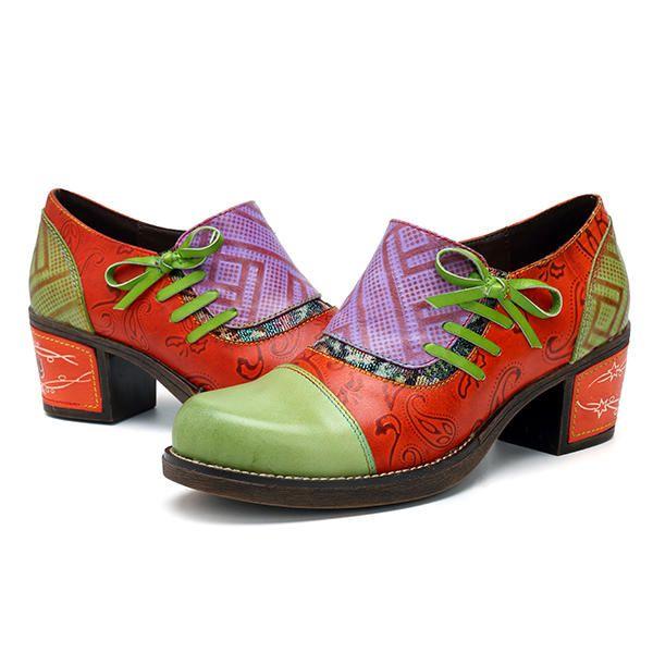 pissage Chaussures Rétro Mi Talon Uw5hL3ZO