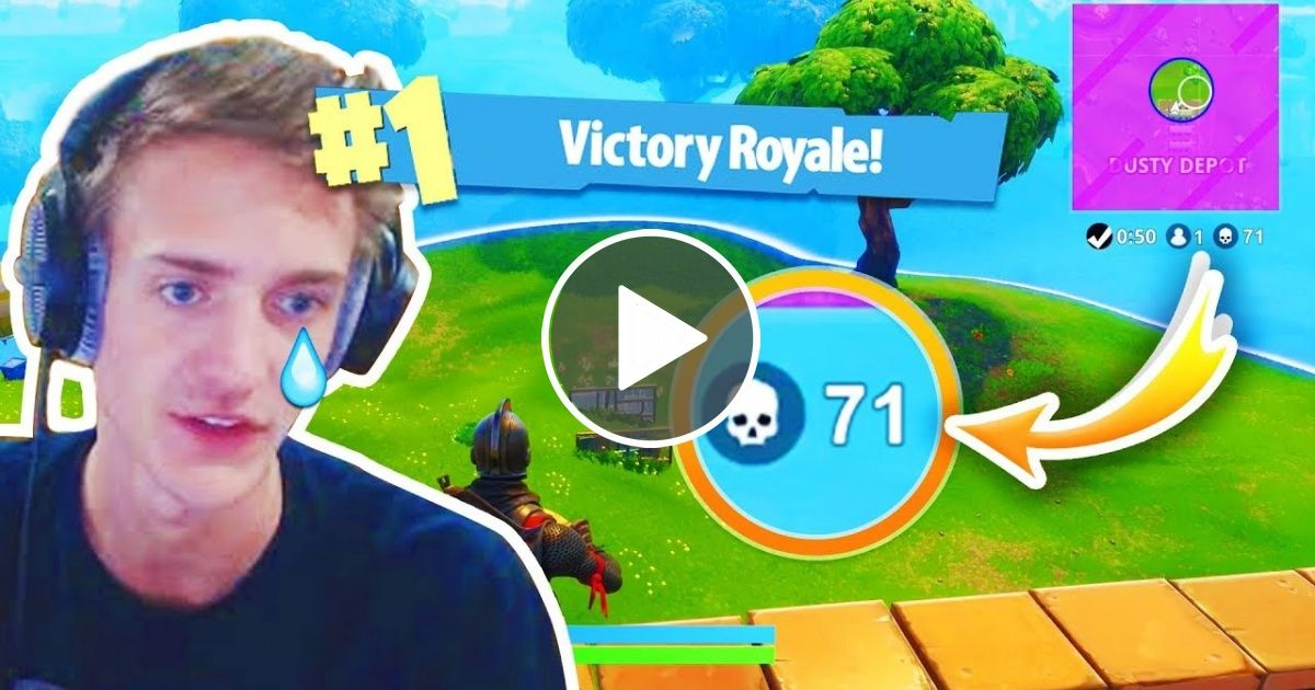 World Record Kills By Ninja Fortnite Funny Fails And Wtf Moments