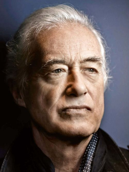 Jimmy Page photographed by Claude Gassian at Olympic Studios, London, May 2015. For Rolling Stone France (september 2015 issue).