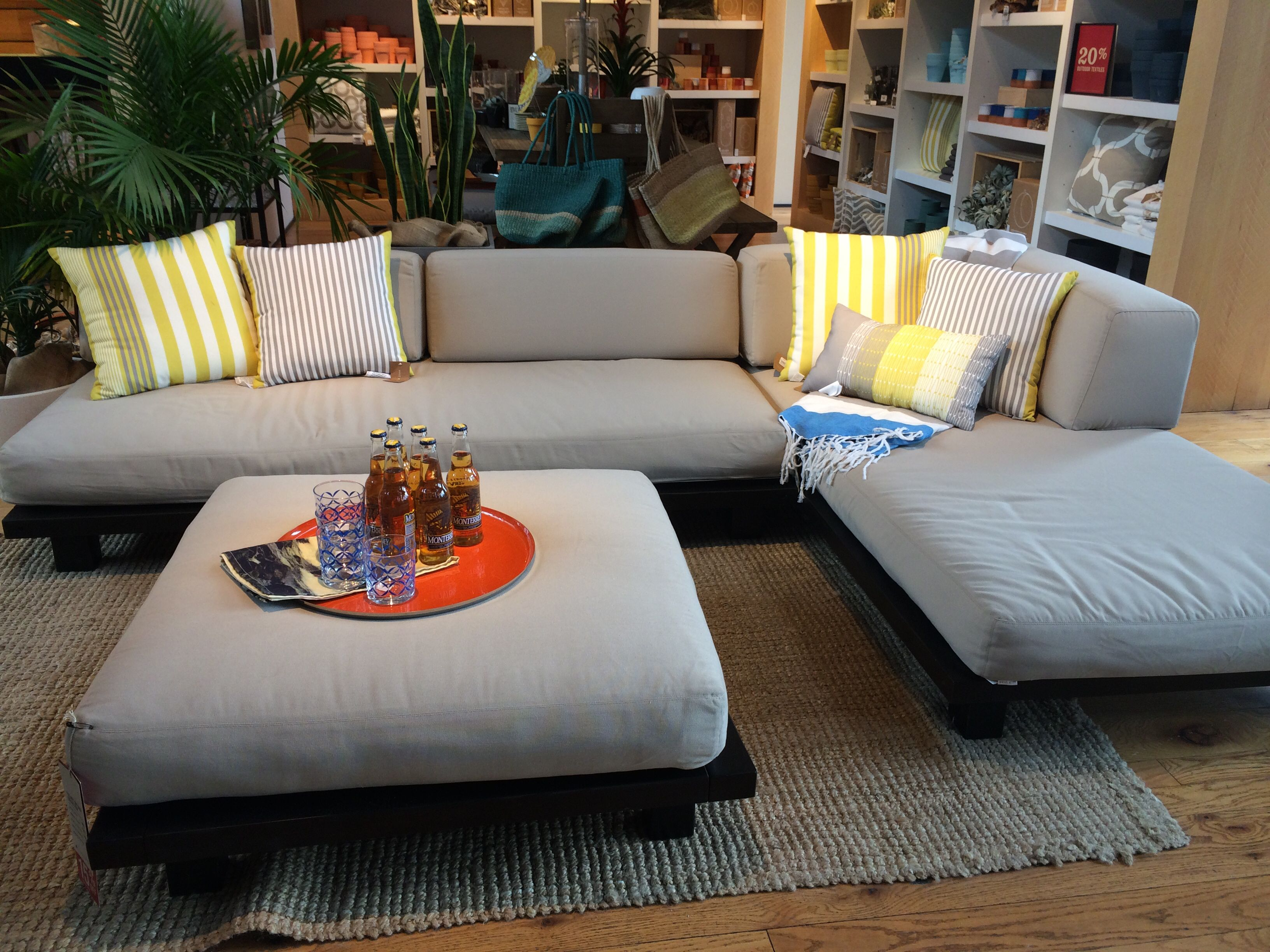 Superior Tillary Outdoor Modular Seating, West Elm, $551 $2079 Design
