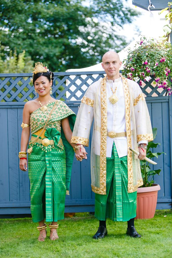 Cambodian Wedding I Love The Traditional Attire Want A Royal Blue Or Some Hue Of Purple