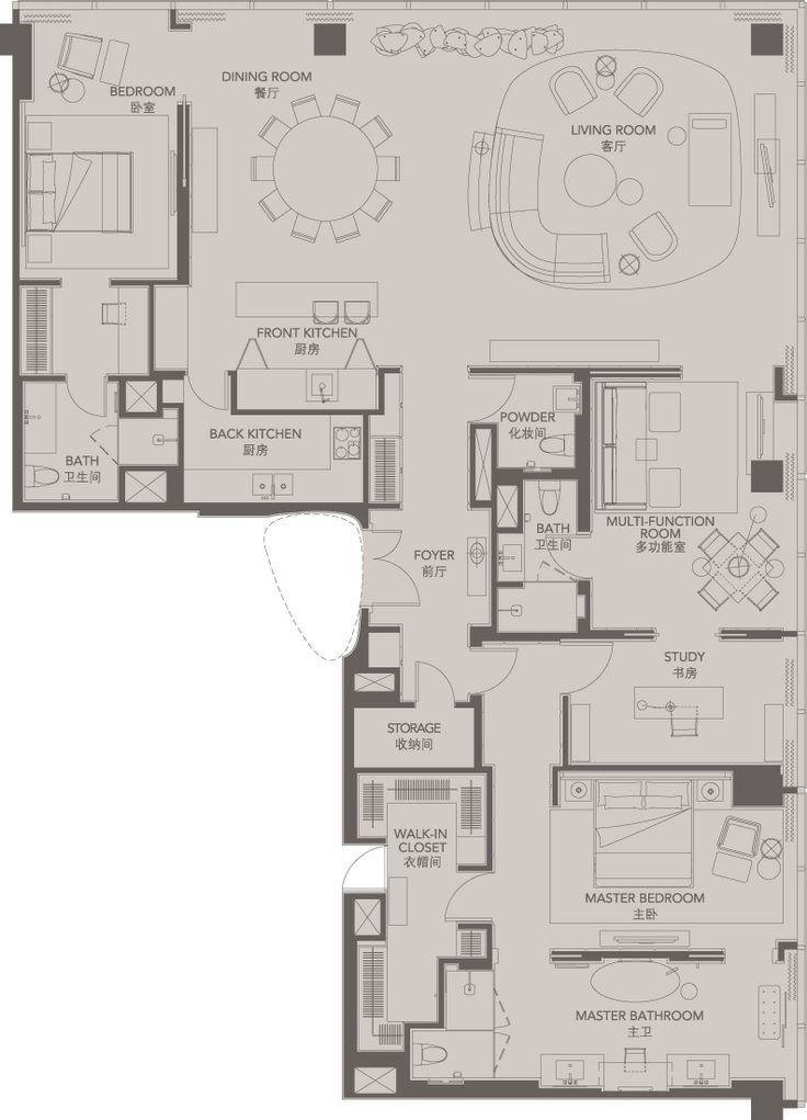 Unit F Typical Floor F42 51 Vietfund Pinterest Hotel Room Plan How To Plan Yabu