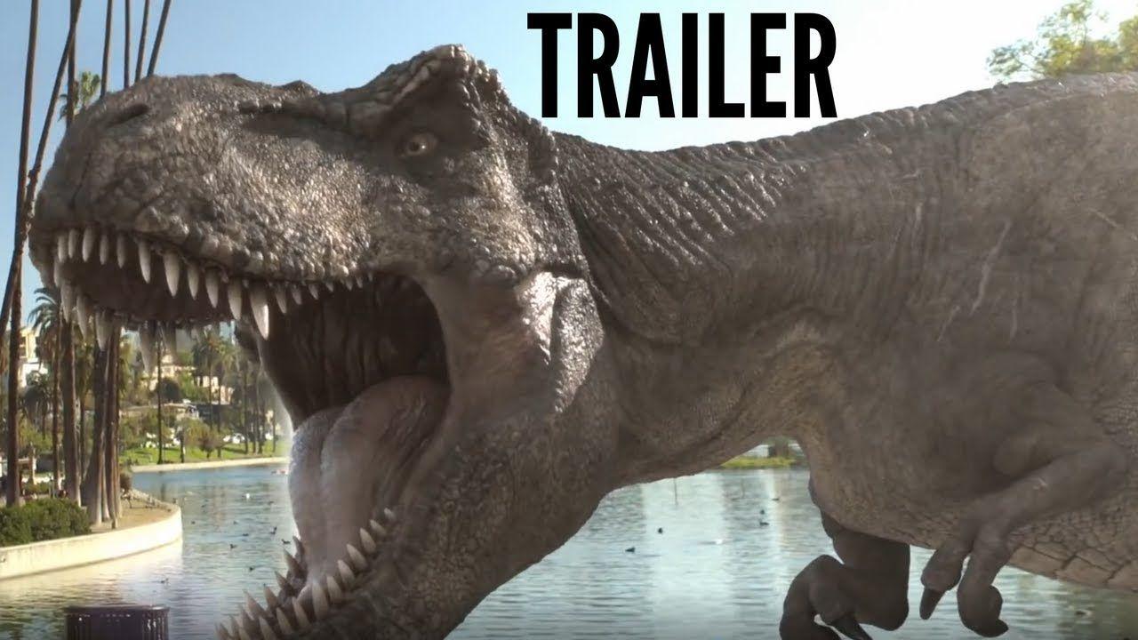 Jurassic world alive trailer new 2018 jurassic world