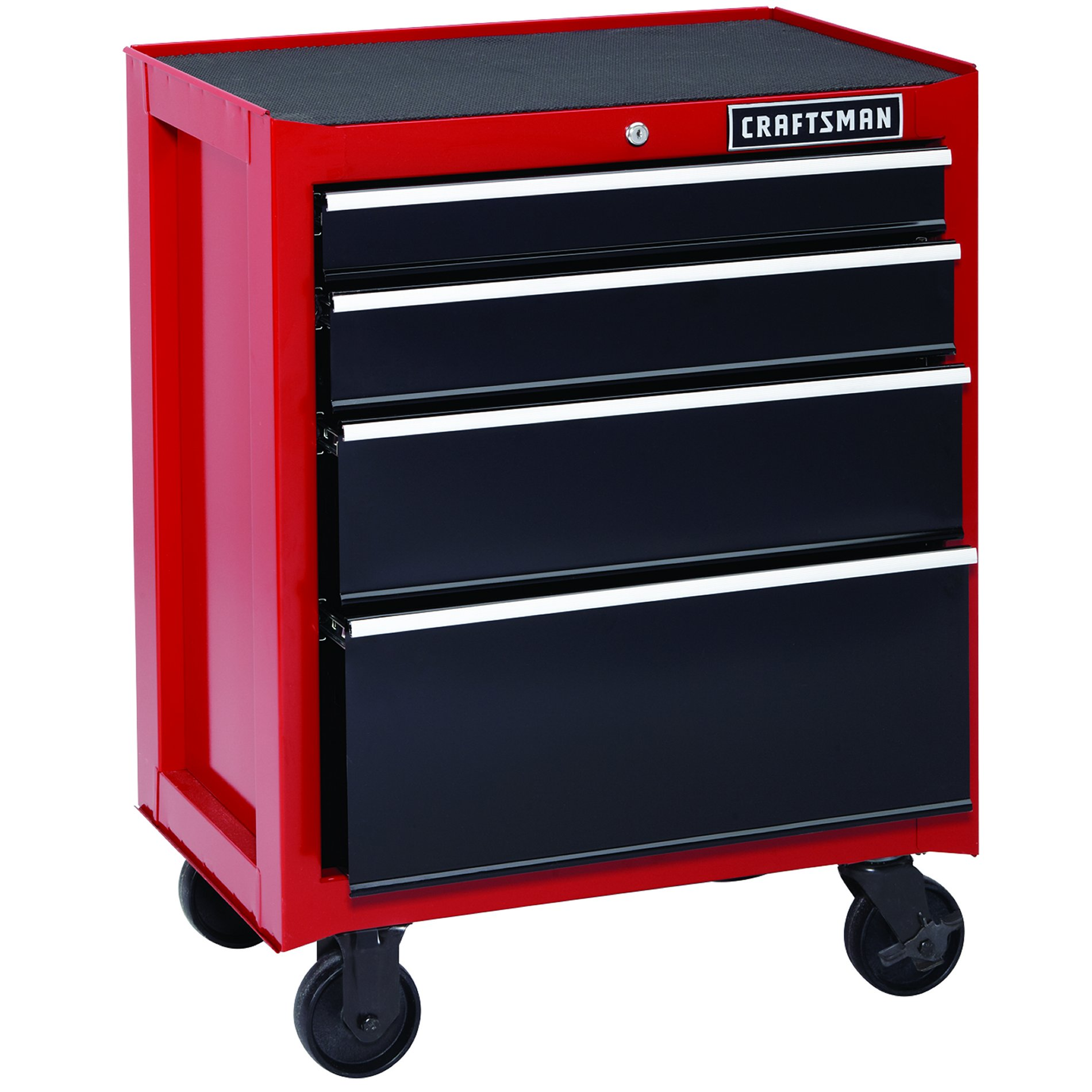 26 34 Deep Drawer Rolling Cabinet Works Alone Or Togetherrough Tough And With A Whopping 8 202 Cubic Inches Of Storage Spa Tool Chest Tool Storage Craftsman