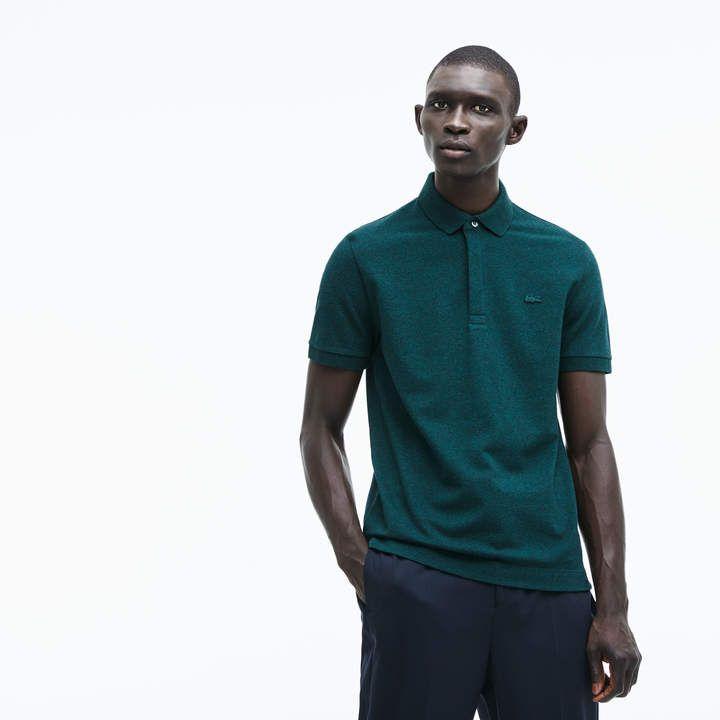 ead7b29650 Men's Regular Fit Stretch Cotton Paris Polo   Products   Polo, Pique ...
