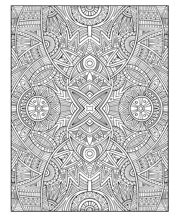 another cool detailed stress relieving pattern that we absolutely love hope you do too adult coloring - Cool Coloring Books For Adults