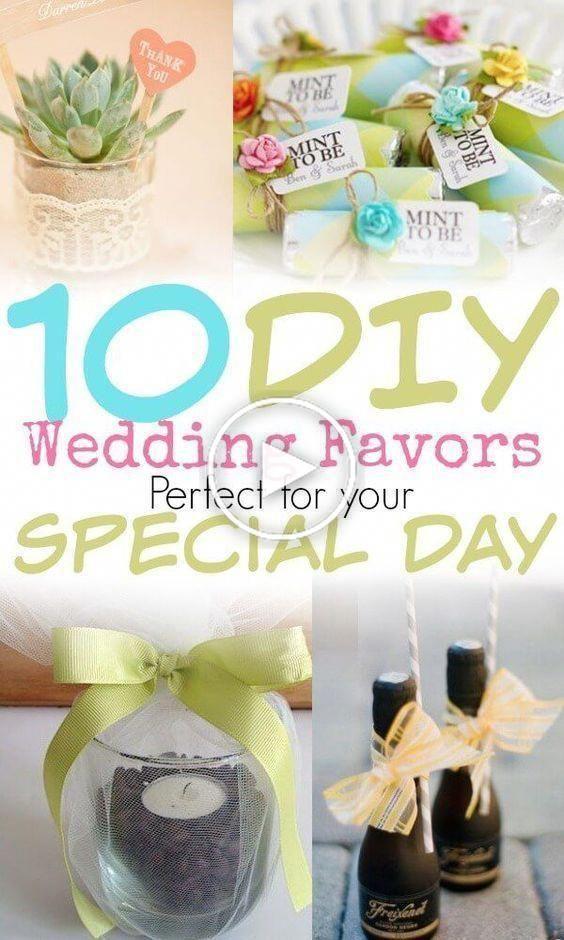 Photo of 10 DIY Hochzeitsbevorzugungen, die jeder lieben wird