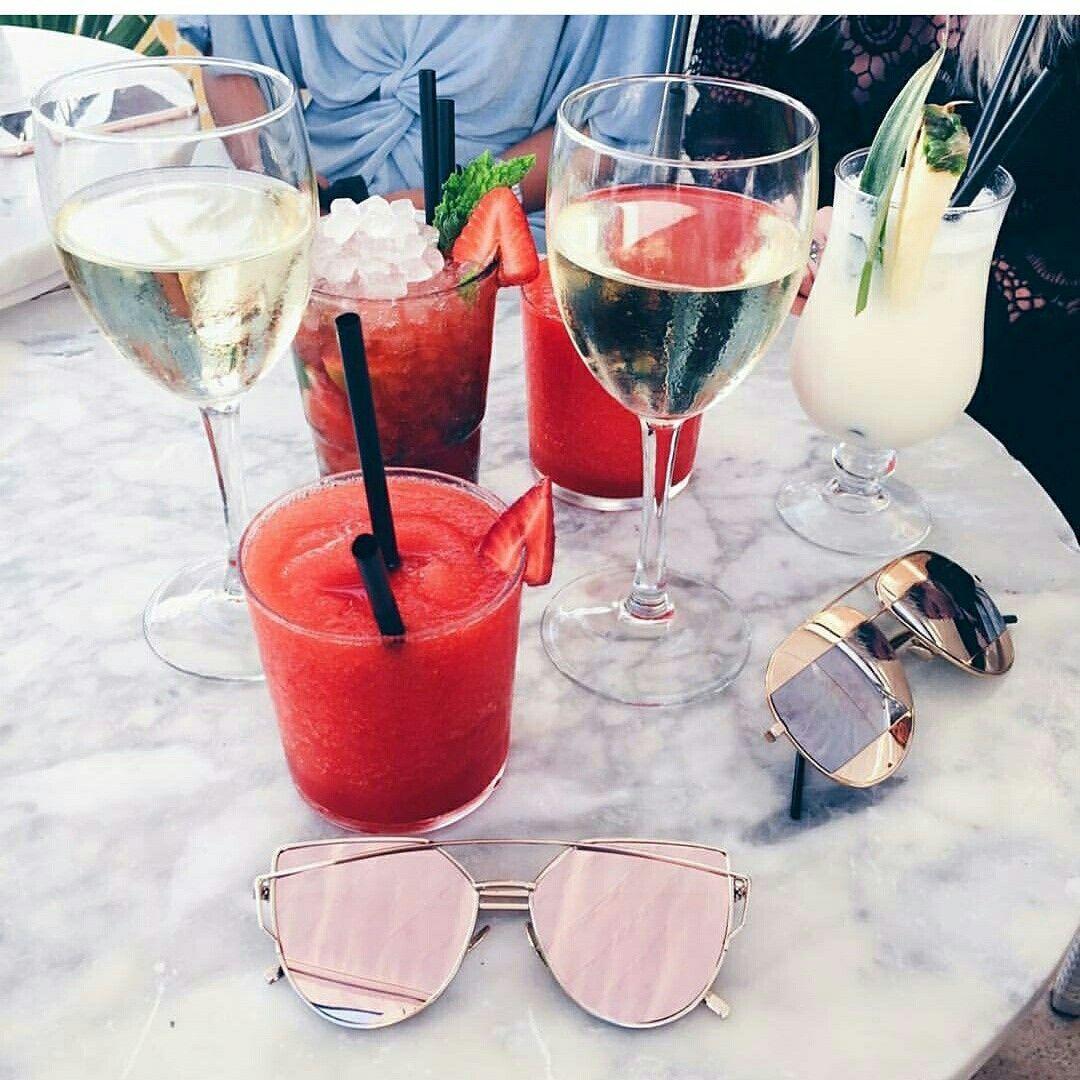 Pin By Mich Mandlazi On Sunglasses Fancy Drinks Food Drinks