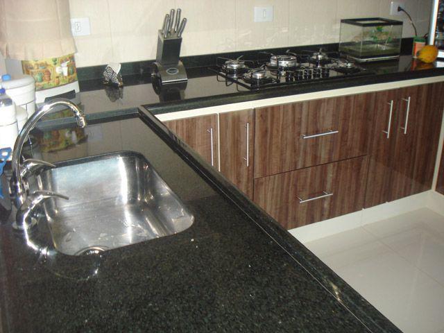 Granito Corian Silestone Ou Aco Inox Para A Bancada Da Cozinha