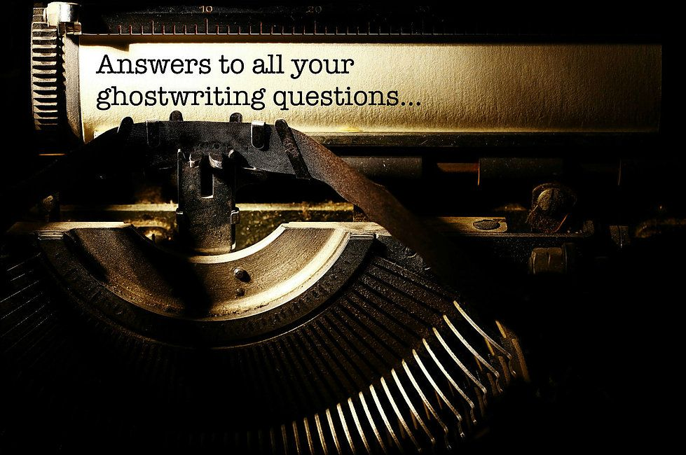 Professional Ghostwriter Is The Best For Your Content Need