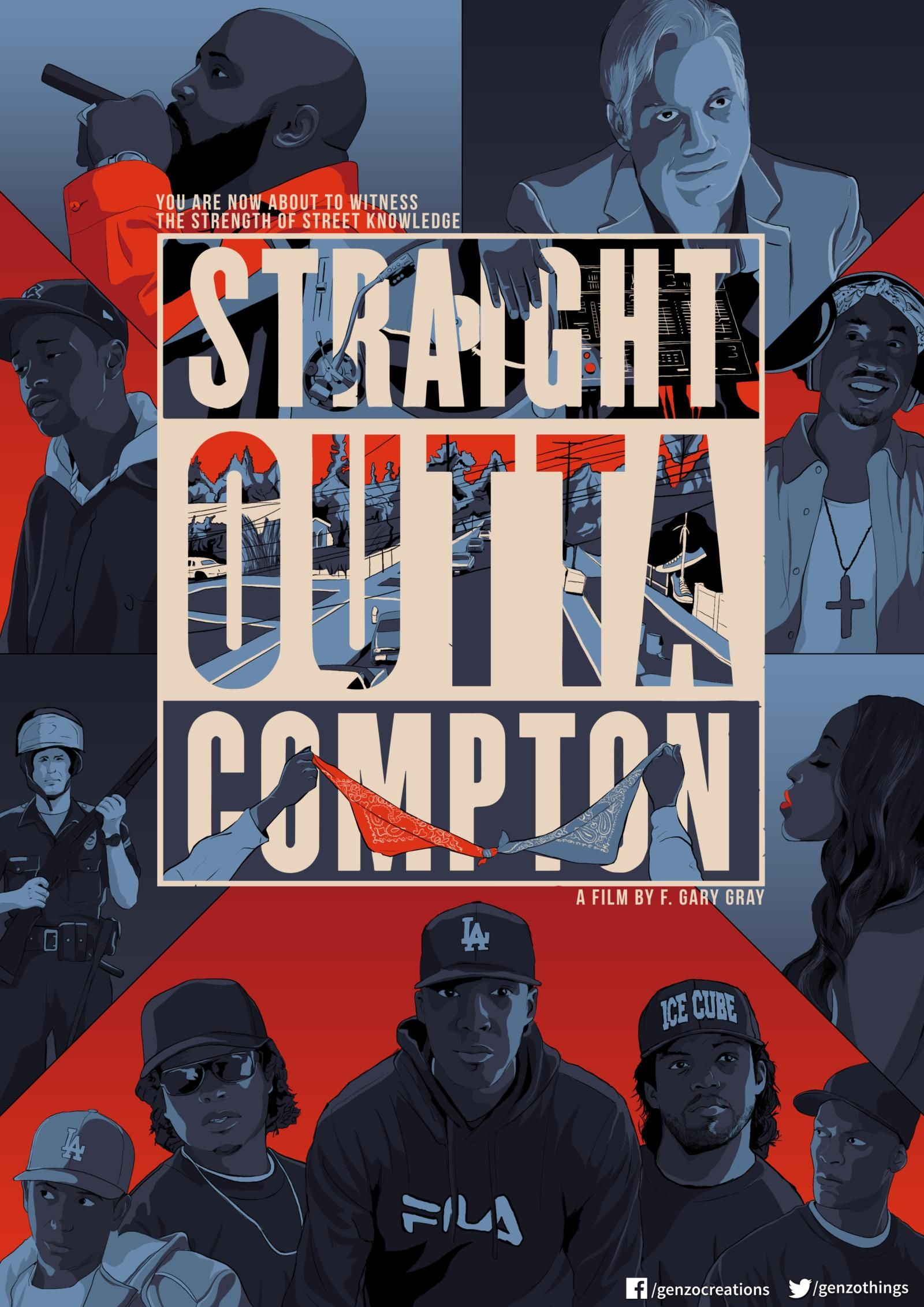 Straight Outta Compton 2015 Hd Wallpaper From Gallsource Com
