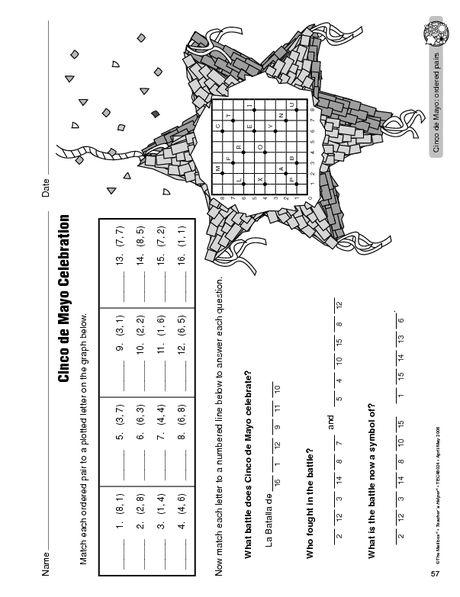 Coordinate Grid Ordered Pairs Coordinate Plane Worksheets Coordinate Grid Super Teacher Worksheets