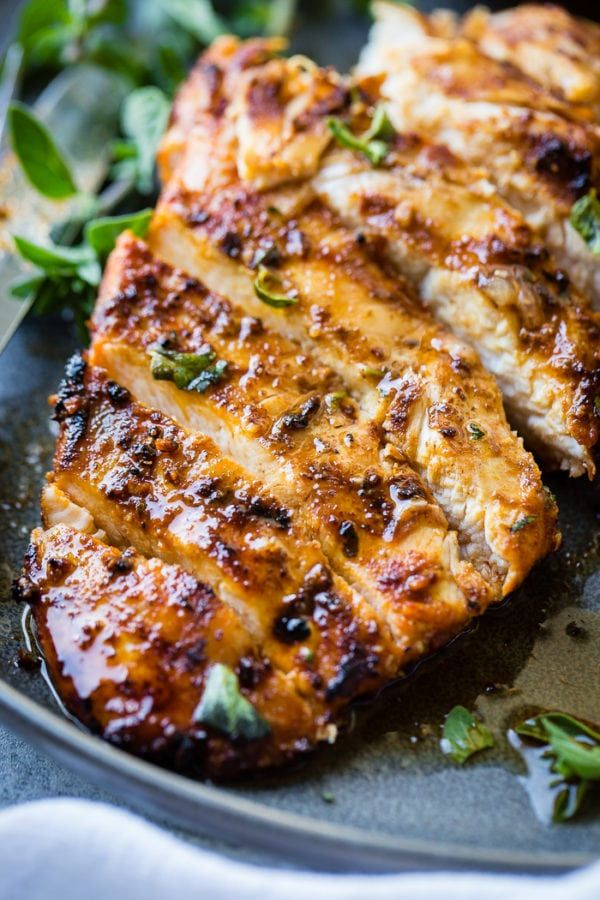 If you're like us, you don't always remember to whip up a delicious chicken marinade for the grill.