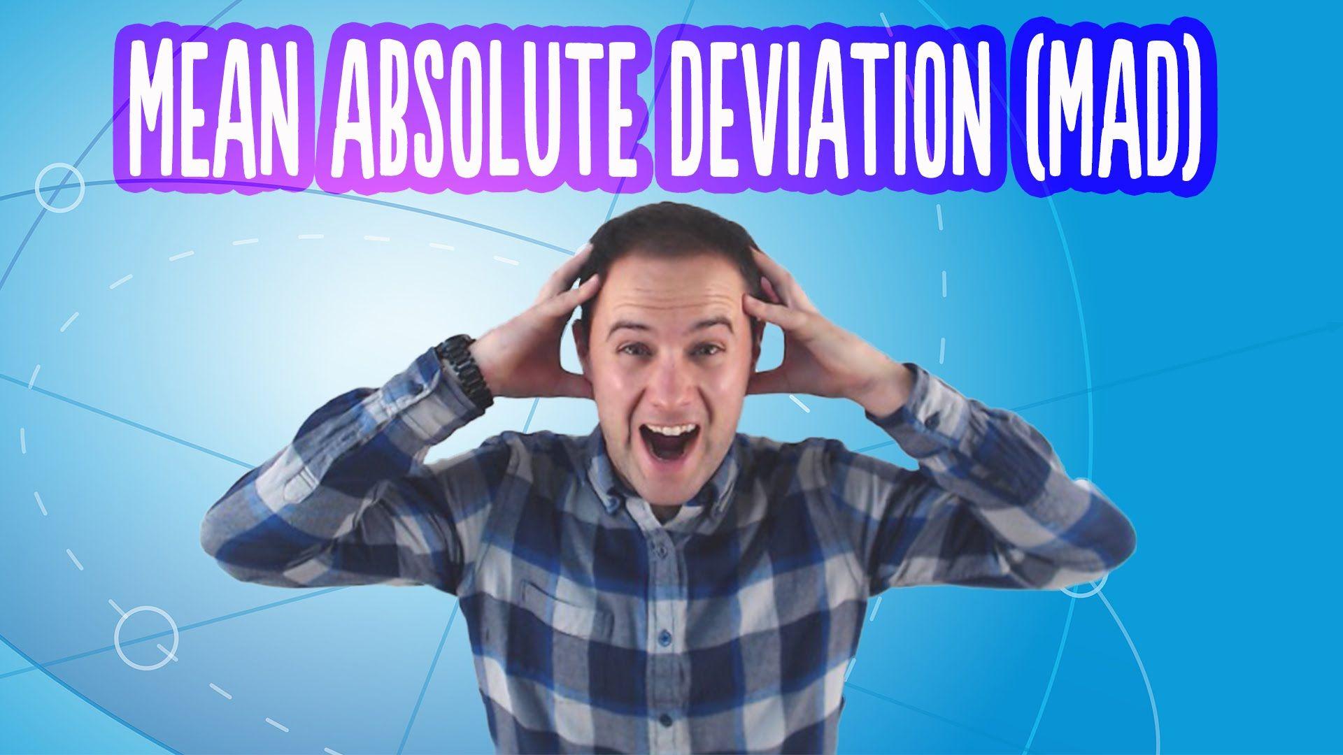 Mean Absolute Deviation | math videos | Pinterest | Math, Learn math ...