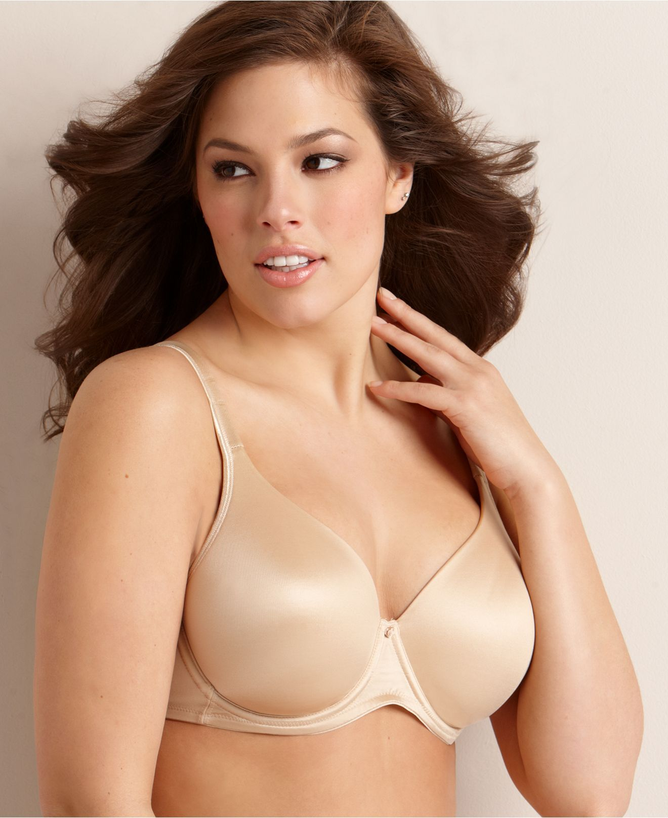 Playtex Bra, Secrets Side Smoothing Underwire 4138 - Womens Plus ...