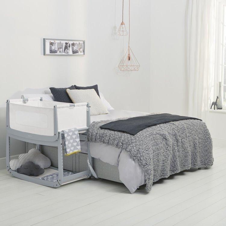 Snuzpod3 Bedside Crib Bedside Crib Cribs Blue Rooms
