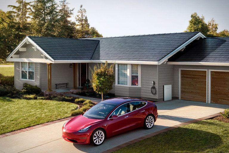 Tesla Solar Roof Tesla solar roof, Solar roof tiles