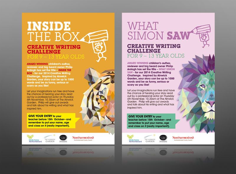Creative writing book club kids alnwick leaflet design Garden club program ideas