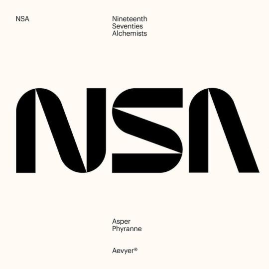 Gustav Nordebrink Aevyer Nsa Typographic Logo Typography Layout Typography Inspiration