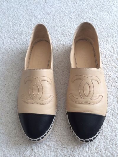 5f846d38251 Chanel via Shop Hers | {Online Hunting} in 2019 | Chanel flats ...
