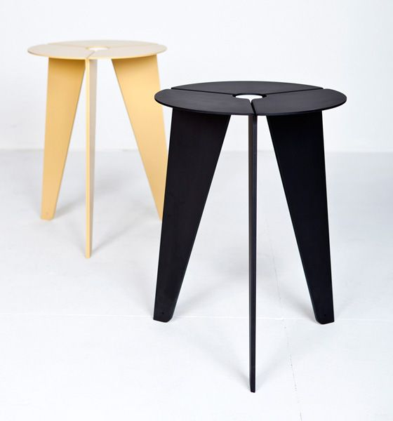 39 Drilling 39 Stool By Christian Kim Furniture And Product