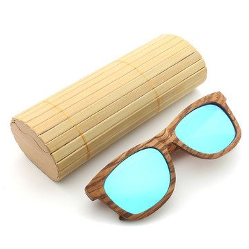 bd34262f080 Zebra Wood UV400 Outdoor Polarized Sunglasses Handmade Retro Cycling  Sunglasses For Men Women Sale -