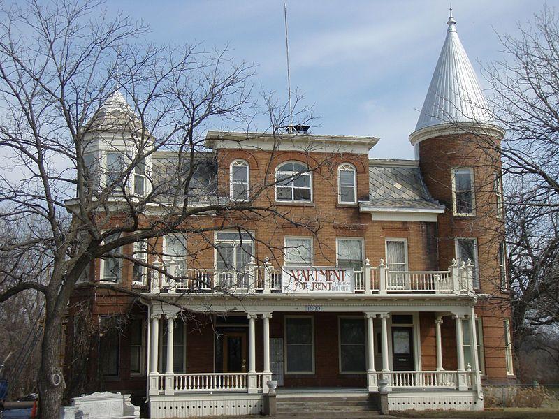 Kline Sanatarium In W Anoka Minnesota Listed On The National Register Of Historic