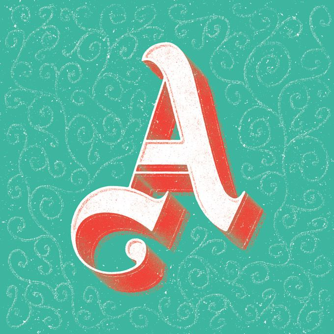On the Creative Market Blog - ABC Design Project: Creative Letters for  Charity
