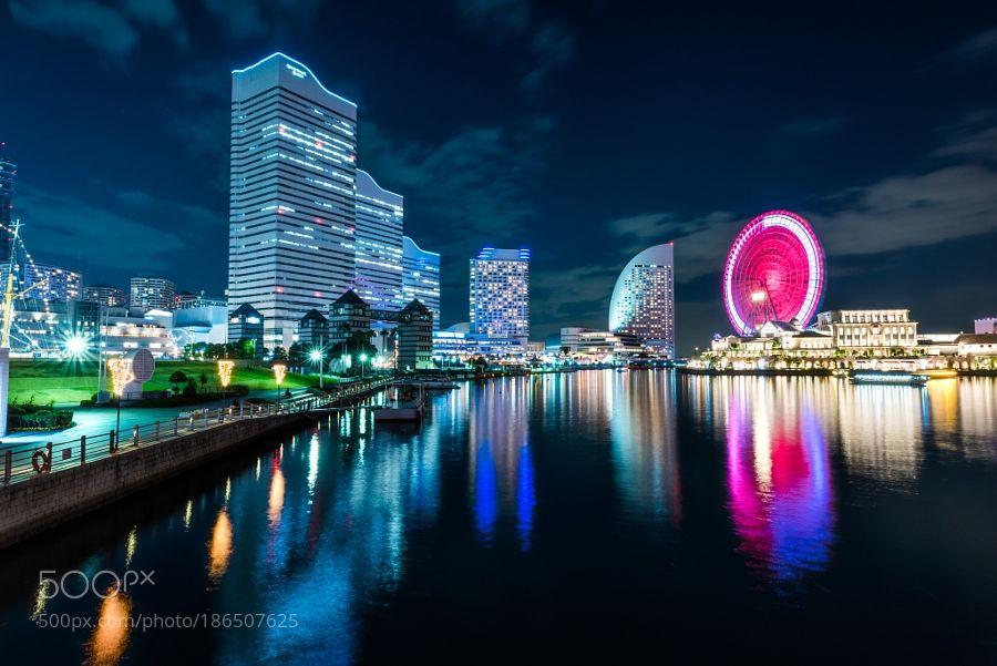 Night view of Yokohama by yam88229