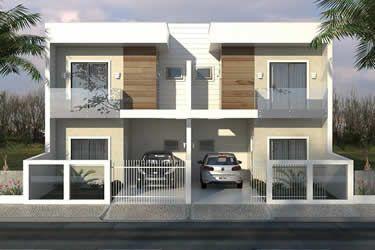 Plano de casa adosado moderna casas 1 en 2019 for Casa moderna 60 m2