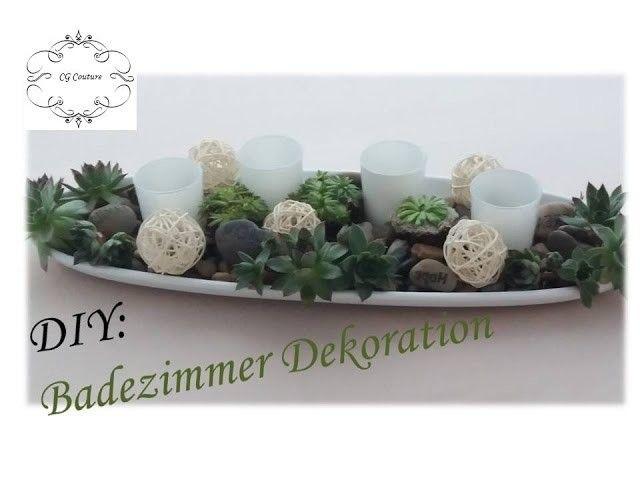 Hervorragend DIY Badezimmer Dekoration Selber Machen Mit Sukkulenten |  Frühlingsdekoration