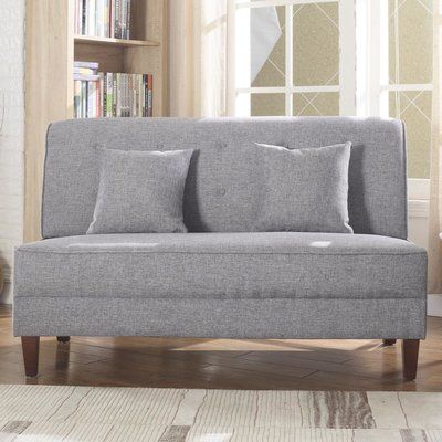 You Ll Love The Boyd Armless Loveseat At Wayfair Great Deals On