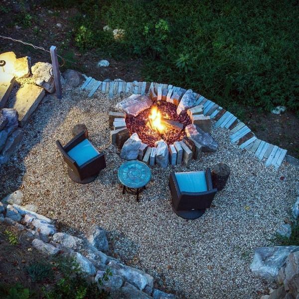 Top 60 Best Fire Pit Ideas - Heated Backyard Retreat ... on Best Fire Pit Design id=92350