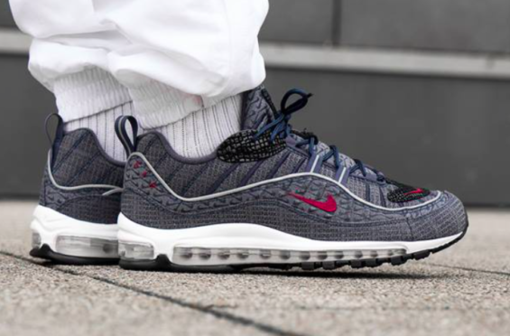 nike air max 98 thunder blue-release adult walker