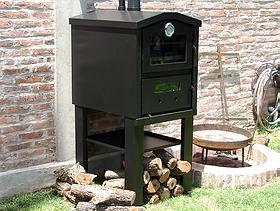 Horno a le a de calor envolvente horno pinterest for Como hacer un horno de lena de hierro