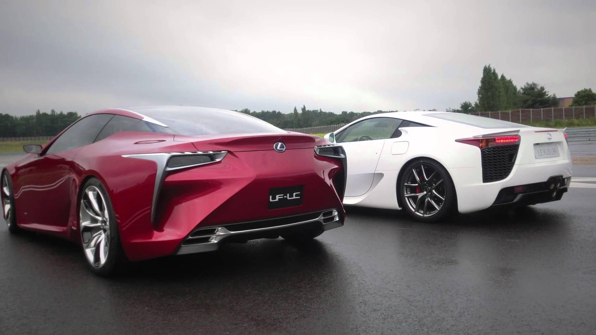 Lexus LFA & LFLC a supercar meeting an avantgarde