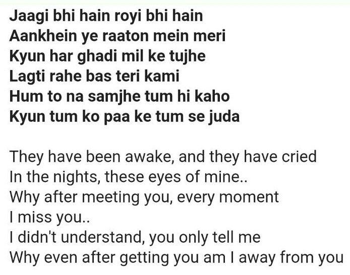 Baatein ye kabhi na tu bhoolna (khamoshiyan by Arijit Singh)