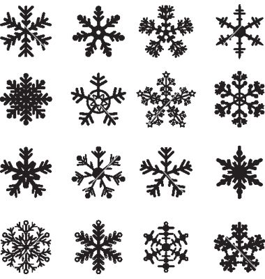 snowflakes vector vinyl designs pinterest tattoo and tatting rh pinterest com snowflakes vector art snowflake vector file