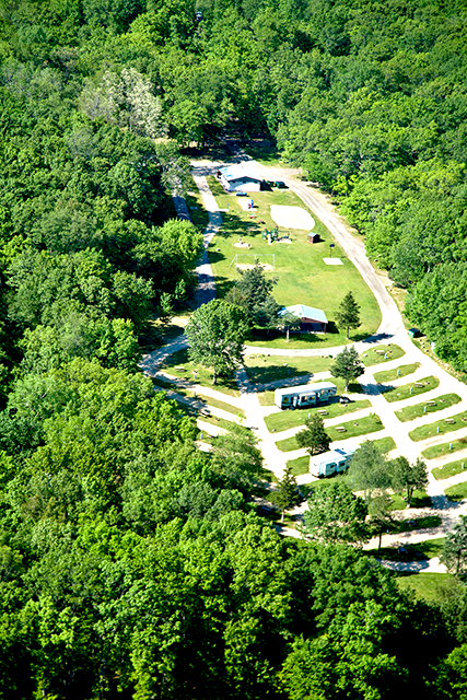 Fox Hill RV Park & Campground at Baraboo, Wisconsin, United States - Passport America Discount Camping Club