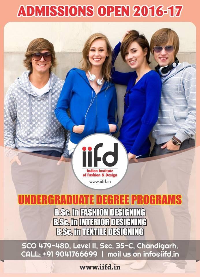 Admission open in fashion designing institute fill online application form iifd chandigarh best also rh za pinterest