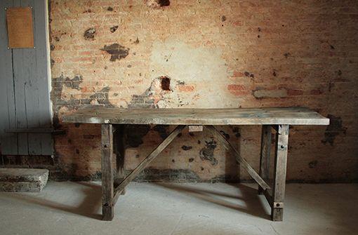 tavolo da lavoro cucina: banco da lavoro con cassetti mobili per ... - Tavolo Da Cucina In Legno Antico