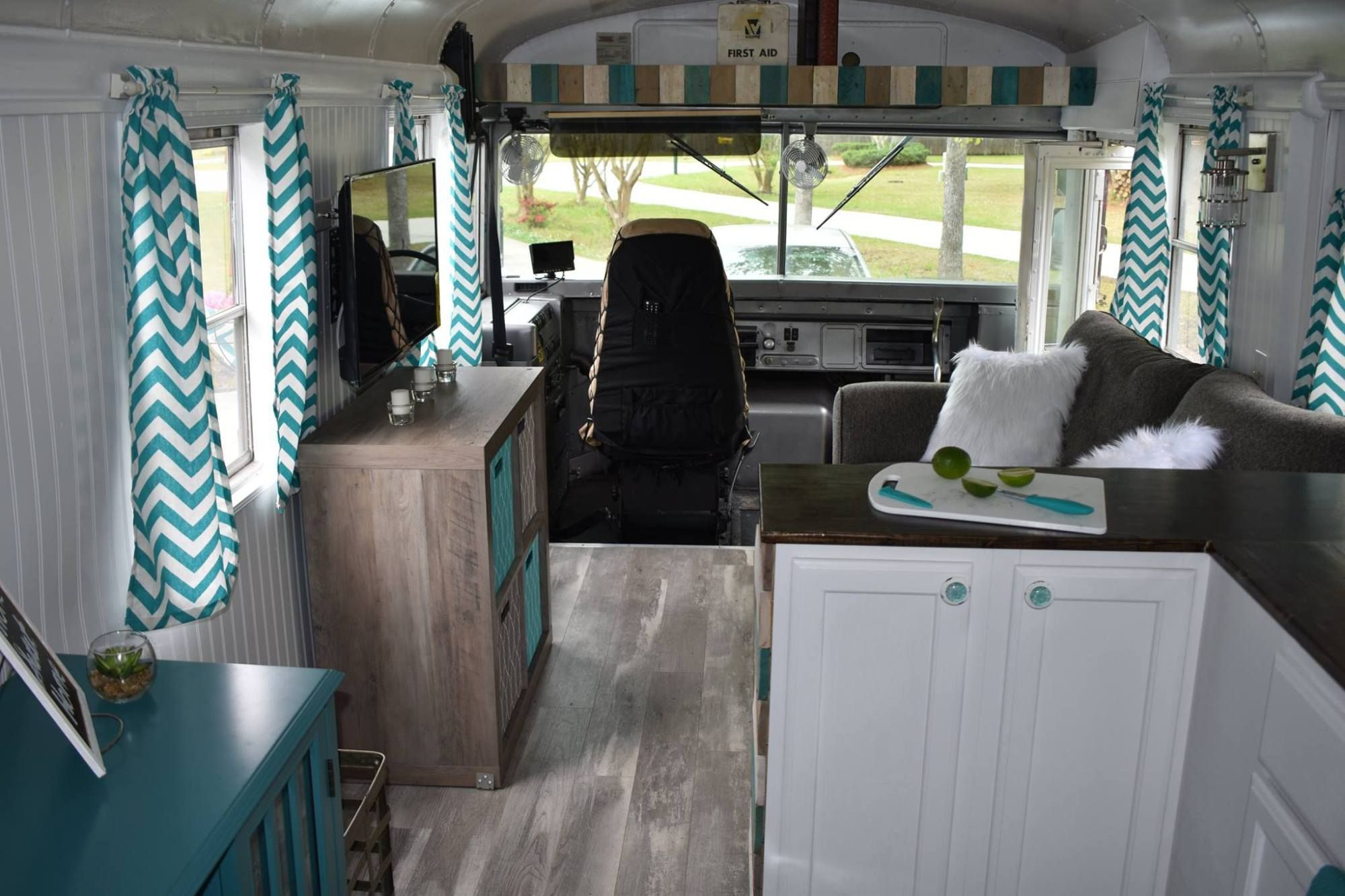 Remodeled School Bus Conversion (Skoolie) | Dream | School